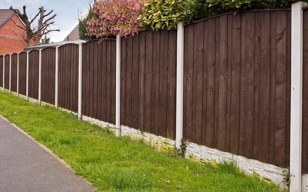 Add a fence to your yard